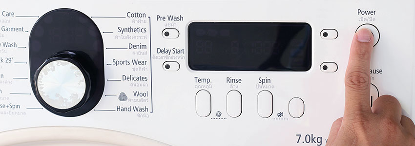 My Washing Machine Won't Start - Find Out Why