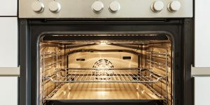 new electric oven