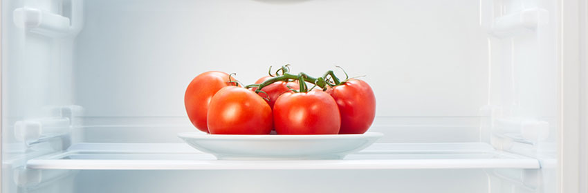 tomatoes in your fridge