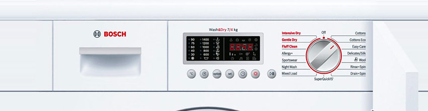 Bosch Integrated Washer Dryer