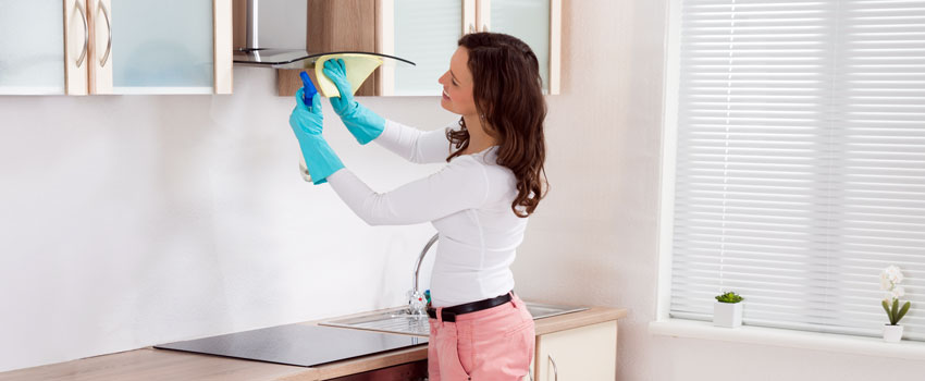 Sparkling Clean Cooker Hood
