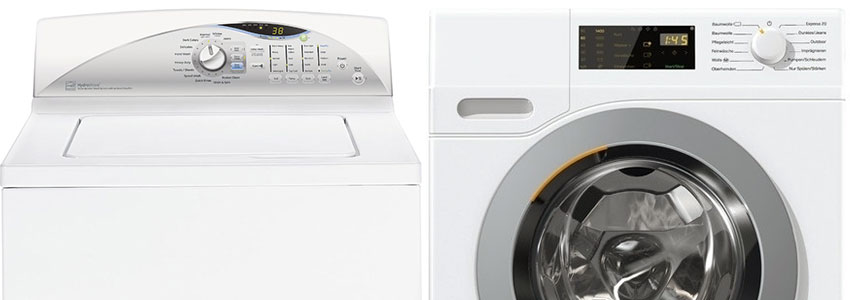 Top loading vs Front loading washing machines
