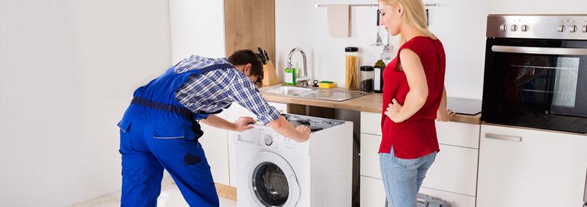 Professional washing machine installation