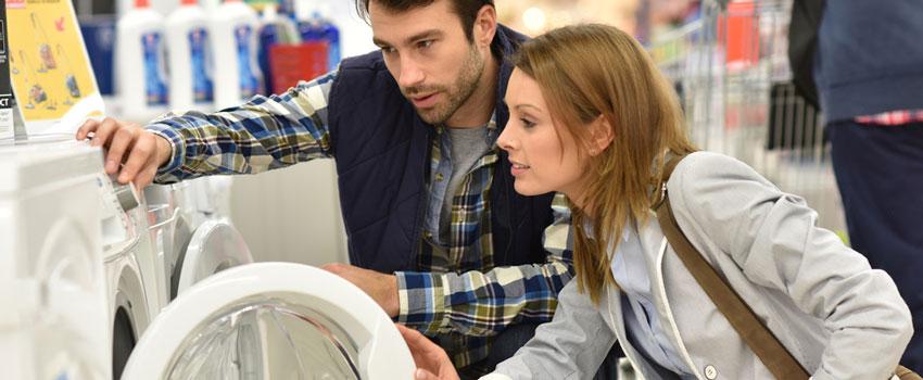Average life expectancy of a new washing machine