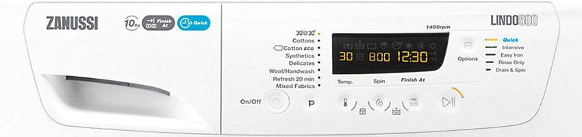 Zanussi Washing Machine Error Codes - Repair Aid