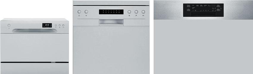 Compact vs Slimline vs Full-sized Dishwasher