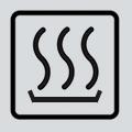 warming oven symbol