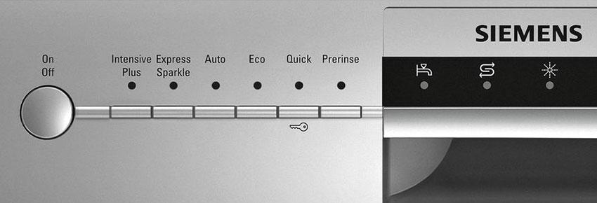 Siemens iSensoric dishwasher
