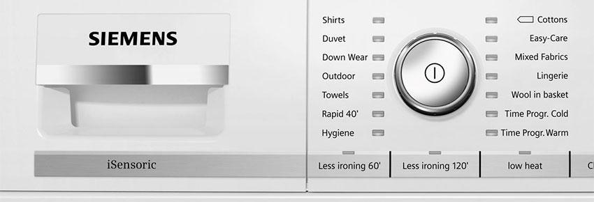 Siemens iSensoric washing machine