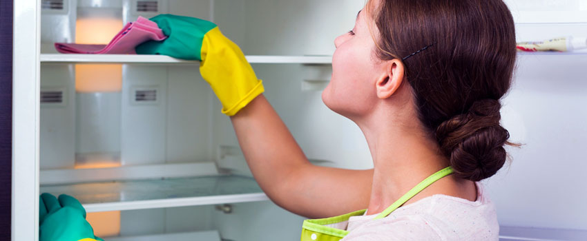 Cleaning your home appliances