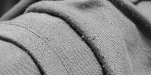 lint on clothes