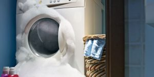 Too Much Foam In The Washing Machine