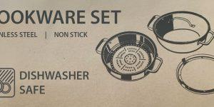 dishwasher safe cookware set