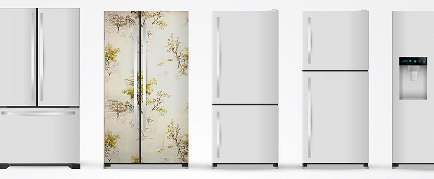 Fridge Door Wallpaper