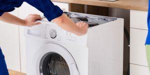 Installation of integrated washing machine