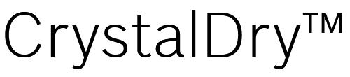 Bosch crystal-dry logo