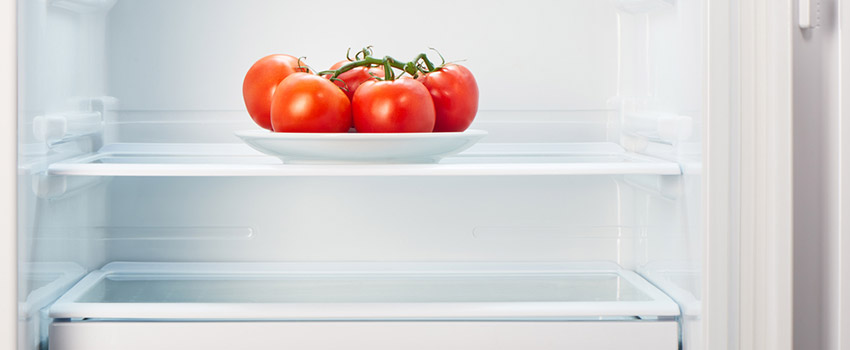 an under-filled fridge can also cost money too
