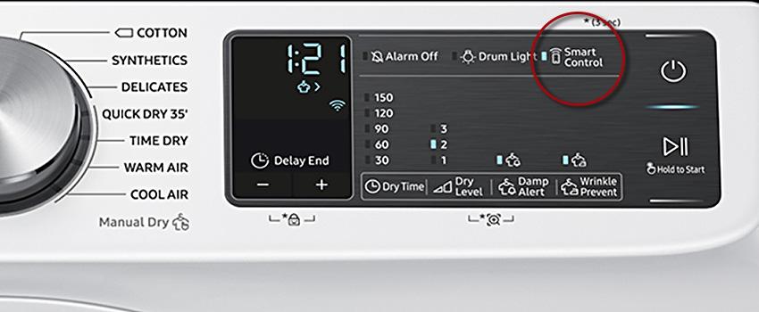 Samsung smart tumble dryer