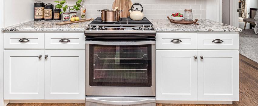 Squeaky hinges on an oven door