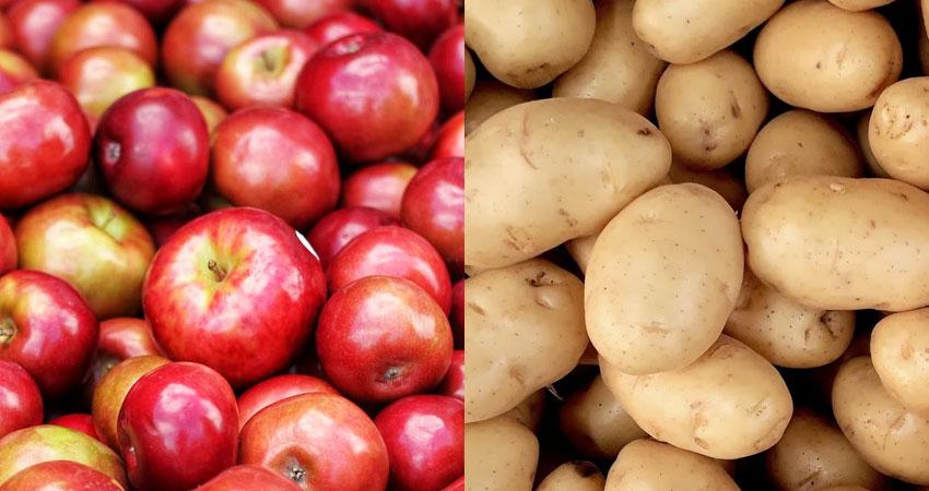 apples & potatoes