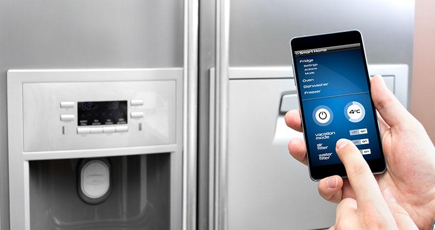luxury fridge